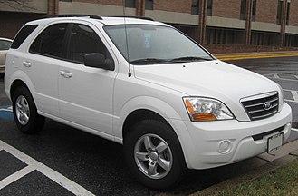 Kia Sorento - 2007–2008 Kia Sorento LX (US)