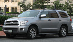 Toyota Sequoia Limited (2008–2009)