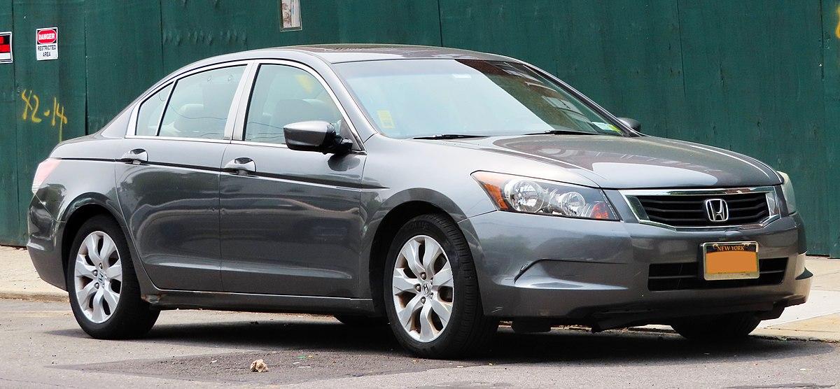 Honda Accord North America Eighth Generation Wikipedia