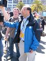 2008 Olympic Torch Relay in SF - media 04.JPG