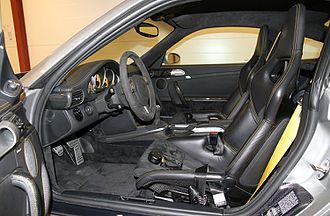 Ruf Rt 12 - Ruf Rt 12 S interior