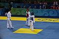 2008 Summer Olympics Taekwondo - Dalia Contreras v. Sumeyye Gulec (1).jpg