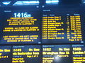 2010-12-06 Boards at Edinburgh Waverley station, Edinburgh.jpg