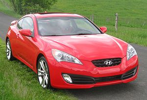 2010 Hyundai Genesis Coupe photographed in Mar...