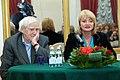 2010 Likhachev Foundation Prize ceremony - Daniil Granin and Alla Manilova (1).jpg