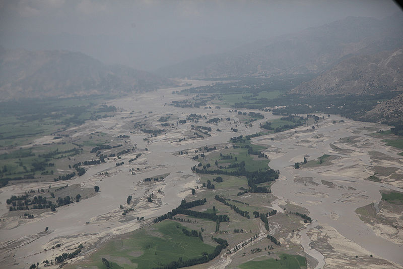 File:2010 Pakistan floods - aerial view near Ghazi.JPG