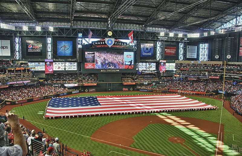 File:2011 Major League Baseball All-Star Game pregame HDR.jpg