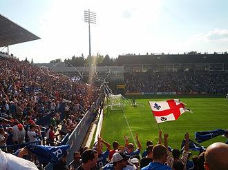 Major League Soccer - Montreal Impact hosting D.C. United (August 2012).