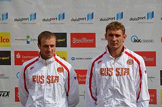 Nikolay Lipkin Russian sprint canoer