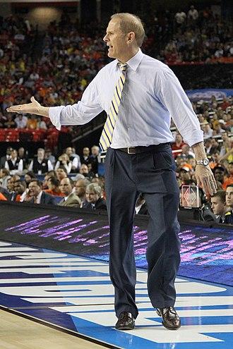 John Beilein - Beilein during the 2013 NCAA Tournament