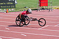 2013 IPC Athletics World Championships - 26072013 - Catherine Debrunner of Switzerland during the Women's 400M - T53 second semifinal 2.jpg