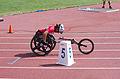 2013 IPC Athletics World Championships - 26072013 - Catherine Debrunner of Switzerland during the Women's 400M - T53 second semifinal 7.jpg