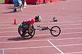 2013 IPC Athletics World Championships - 26072013 - Catherine Debrunner of Switzerland during the Women's 400M - T53 second semifinal 9.jpg