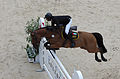 2013 Longines Global Champions - Lausanne - 14-09-2013 - Sheik Shakhboot Al Nahyan et Arc en Ciel de Muze 1.jpg