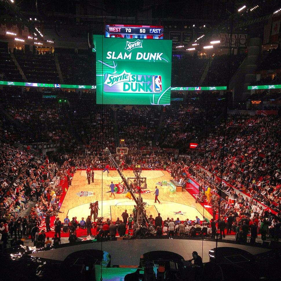 2013 NBA Slam Dunk Contest at Toyota Center
