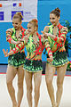 2014 Acrobatic Gymnastics World Championships - Women's group - Qualifications - Belarus 2 02.jpg