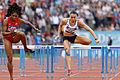 2014 DécaNation - 100 m hurdles 06.jpg