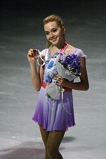 Elena Radionova Russian figure skater