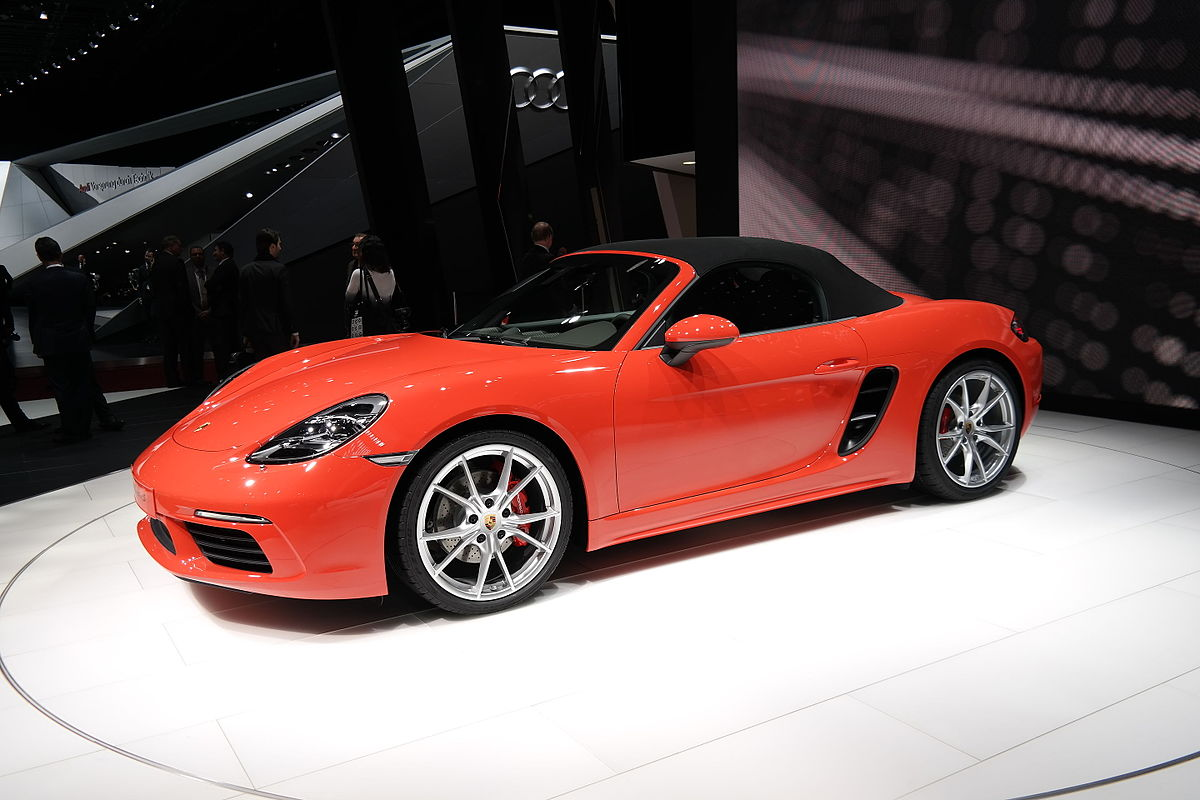 Porsche 718 Cayman S >> Porsche 718 Boxster — Wikipédia