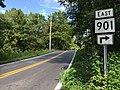 2016-08-25 15 03 13 View east along West Virginia State Route 901 (Hammonds Mill Road) between Harlan Spring Road and Vineyard Road in Spring Mills, Berkeley County, West Virginia.jpg
