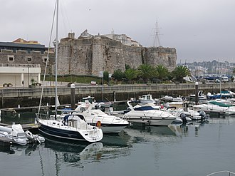 Citadel of Cascais - View of the Citadel from the Marina