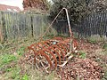 2018-04-04 Rusting Cultivator, Hungry hill, Northrepps, Cromer.JPG