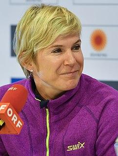 Kateřina Neumannová Czech cross-country skier