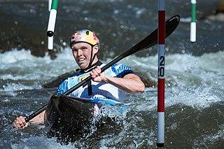 Joe Clarke (canoeist) British slalom canoeist