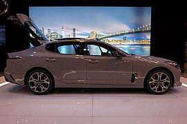 Kia Stinger Wikipedia - Pilot mountain car show 2018
