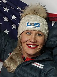 2020-02-22 Flower Ceremony 2-woman bobsleigh (Bobsleigh & Skeleton World Championships Altenberg 2020) by Sandro Halank–007-Kaillie Humphries.jpg