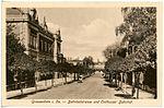 20769-Großenhain-1918-Bahnhofstraße, Post und Cottbuser Bahnhof-Brück & Sohn Kunstverlag.jpg