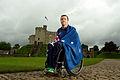 210812 - Greg Smith 2012 Flag bearer Australian Paralympic Team - 3b - solo photo.jpg
