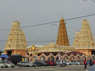 Hinduism in Malaysia - Sri Sundarraja Peumal Temple is a South Indian style Hindu temple in Malaysia.
