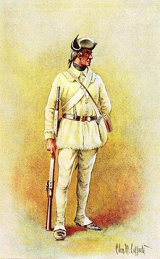 2nd Rhode Island Regiment - 2nd Rhode Island Regiment of Infantry, 1779,