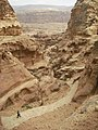 33 Petra High Place of Sacrifice Trail - The Trails in Petra Are Well Developed and Maintained - panoramio.jpg