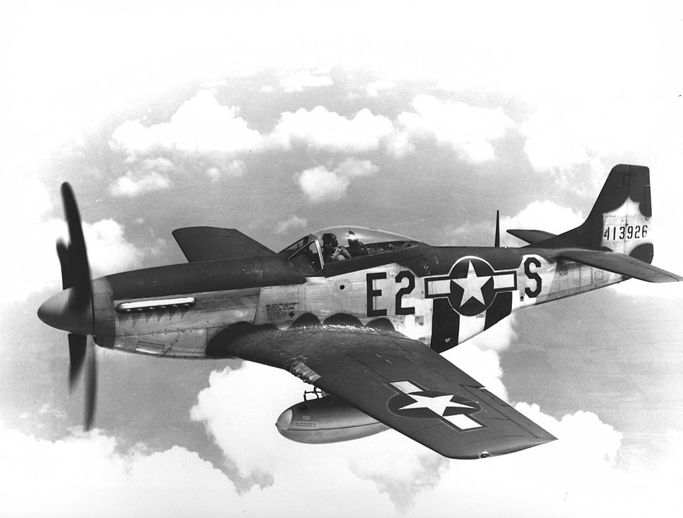 375th Fighter Squadron North American P-51D-5-NA Mustang 44-13926