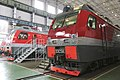 3ES5K-595 and 671 at Novocherkassk locomotive plant.jpg