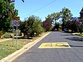 40 kmh School Zone sign on a dead end street.jpg