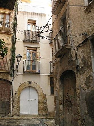 Albinyana - Image: 432 Edifici al carrer de la Civaderia, 4