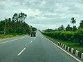 4 lane roads highway in India NH 48 Karnataka.jpg
