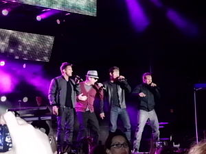 98 Degrees - 98 Degrees performing in 2012