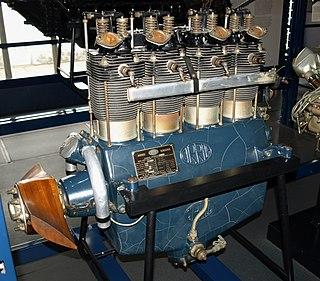 ADC Cirrus I-4 piston aircraft engine