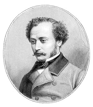 Alexandre Dumas, fils - Alexandre Dumas, fils, in his youth