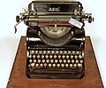 AEG typewriter with Cyrillic letters model 6.jpg
