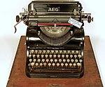 AEG typewriter with Cyrillic letters model 6.jpg