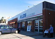 ALDI in Hjørring, Denmark