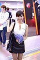 AMD promotional model at Computex 20130607c.jpg