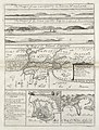 AMH-8153-KB Prospect, chart and two bird's eye views of Cayenne and a view of Cape Cassepourry on a single leaf.jpg