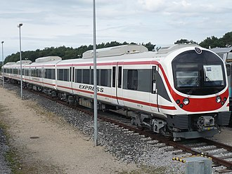 Airport Rail Link (Bangkok) - Image: ARL Bangkok Express 1
