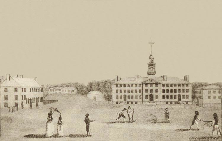 A Front View of Dartmouth College (1793)